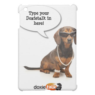 DT#23151650Custom Cool chillin out Doxie iPad cove Case For The iPad Mini