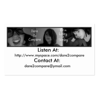 DTC BUSINESS CARDS FOR SALE TO THE BAND ONLY!