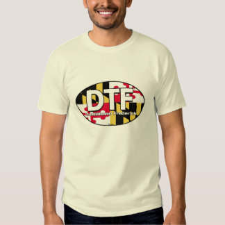 DTF Downtown Frederick Maryland Flag Shirt