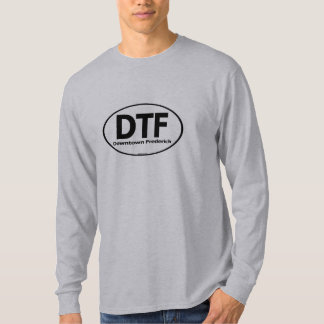 DTF Downtown Frederick Mens Long Sleeve T-Shirt