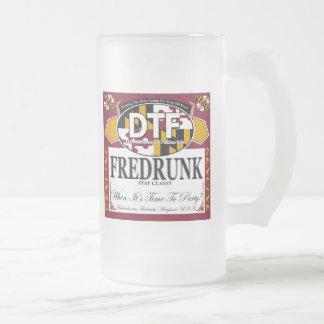 DTF Fredrunk Frosted Mug