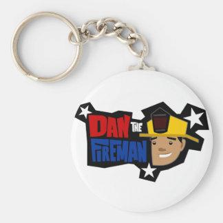 DtF Logo Basic Round Button Keychain