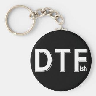 DTFish - Funny Fishing Keychain