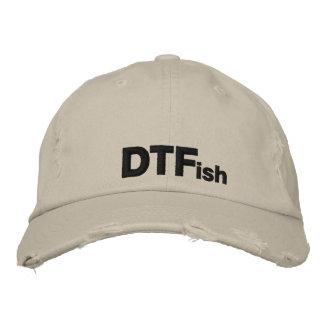 DTFish - pesca divertida Gorro Bordado
