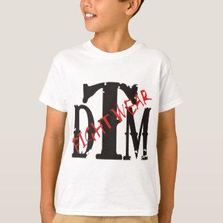 DTM Shirt w/ Black DTM and Red Fightwear