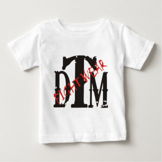 DTM Shirt w/ Black DTM and Red Fightwear