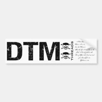 DTM Sticker 3 Car Bumper Sticker