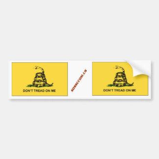dtom car bumper sticker