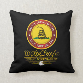 DTOM -Demand Accountability Throw Pillow