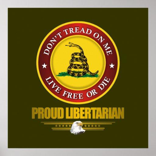 DTOM - Libertario orgulloso Poster