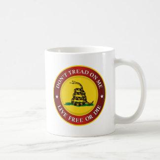 DTOM -Live Free Or Die Classic White Coffee Mug