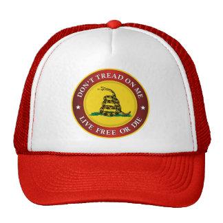 DTOM -Live Free Or Die Trucker Hat