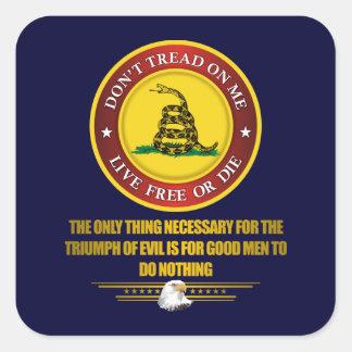 DTOM -Obligation Square Sticker