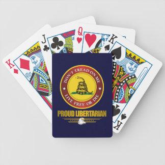DTOM -Proud Libertarian Bicycle Playing Cards