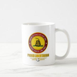 DTOM -Proud Libertarian Classic White Coffee Mug