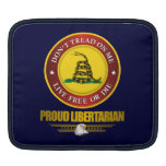 DTOM -Proud Libertarian Sleeves For iPads