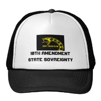 dtom snake, 10th AmendmentState Sovreignty Trucker Hat