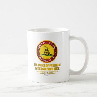 DTOM -Vigilance Classic White Coffee Mug
