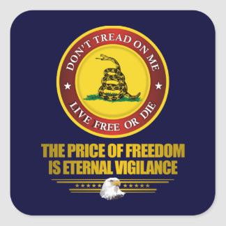DTOM -Vigilance Square Sticker