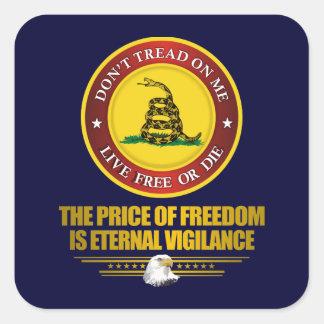 DTOM -Vigilance Stickers