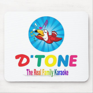 D'Tone Family Karaoke Souvenir Mouse Pad