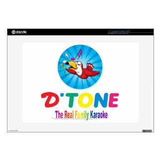D'Tone Family Karaoke Souvenir Decals For Laptops