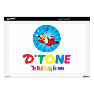 D'Tone Family Karaoke Souvenirs Laptop Decal