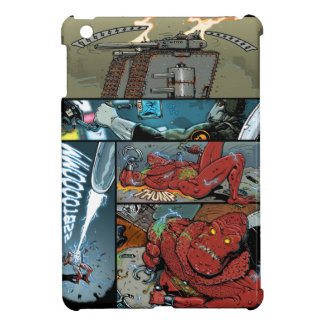 DTOX Comic book page by Nenad Gucunja -DOOMSDAY iPad Mini Covers