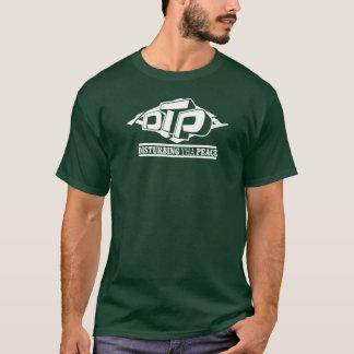 DTP White Logo on Black T-Shirt