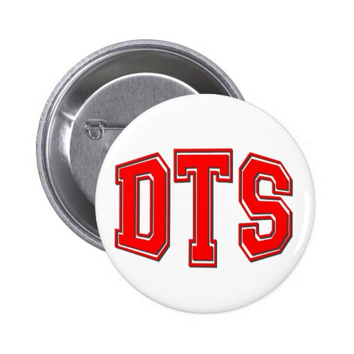 DTS Down To Snuggle Pinback Button