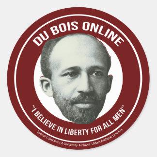 Du Bois Online Classic Round Sticker