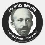 Du Bois Online Pegatina Redonda
