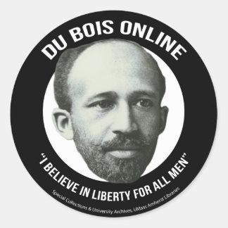 Du Bois Online Round Sticker