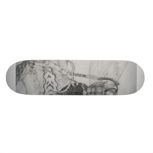 "du Bourg's 420 Decks ""Fairy Fire"" Skate Board Decks"
