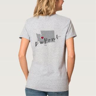 Du Pont, WA 2 echó a un lado camisa del amor de la