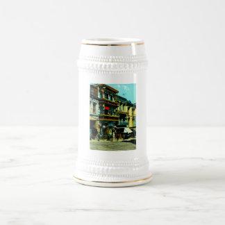 Du Pont y calles de la arcilla Taza De Café