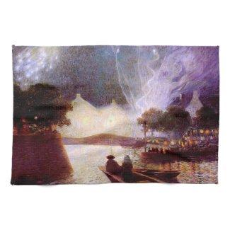 Du Puigaudeau: Fireworks over the Port