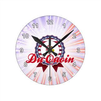 Du Quoin, IL Reloj De Pared