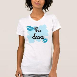 DUA de Te - Albanés - te amo T Shirts