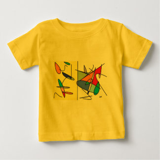 Dual Abstract Baby T-Shirt