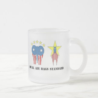 DUAL AIR BAGS STANDARD FROSTED COFFEE MUG