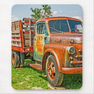 Dual - camión - oxidado viejo - vintage tapetes de ratón