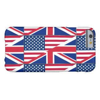 Dual Citizen American & British Flag iPhone 6 Case