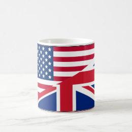 Dual Citizen American & British Flag Mug
