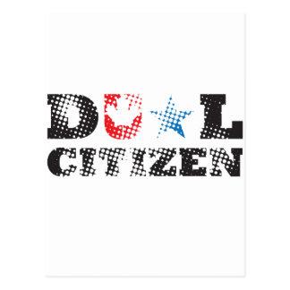 Dual Citizen Postcard