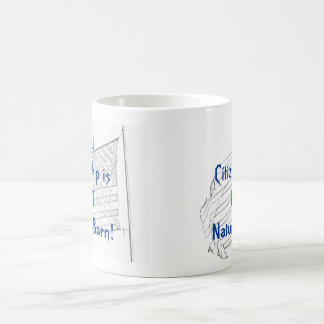 Dual Citizenship is NOT Natural Born! Classic White Coffee Mug