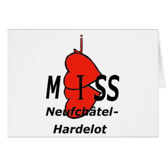 Dual-core Miss Neufchatel Hardelot 1 PNG Greeting Card