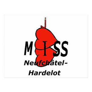 Dual-core Miss Neufchatel Hardelot 1 PNG Postcard