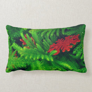 Dual Designs on One product Christmas Pillow. Throw Pillow