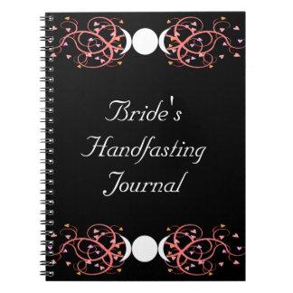 Dual Goddess Wiccan Lesbian Bride's Journal